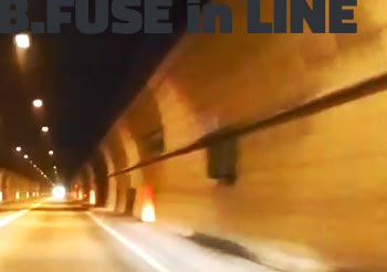 B Fuse tunnel in line